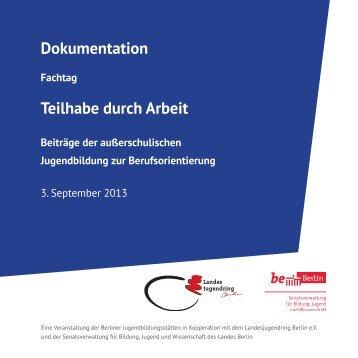 Die Doku in Einzelseiten mit Links - Landesjugendring Berlin