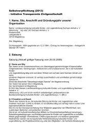 Selbstverpflichtung 2013 - lkj) Sachsen-Anhalt