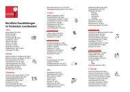 Berufliche Grundbildungen im Fürstentum Liechtenstein