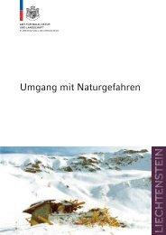 Herausgeber Amt für Wald, Natur und Landschaft des