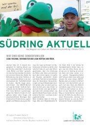 Südring Aktuell Oktober 2013 - Leben mit Behinderung Hamburg
