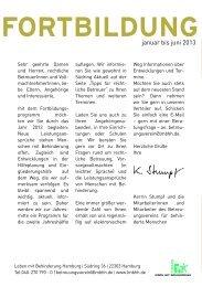 Fortbildungsprogramm für rechtliche Betreuer 2013 - Leben mit ...