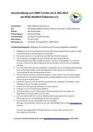 Ausschreibung zum WBO Turnier am 4. Mai 2013 am RFSG ...