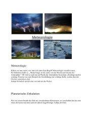 Meteorologie Planetarische Zirkulation