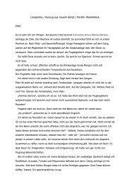Leseprobe / Auszug aus neuem Skript / Kerstin Westerbeck