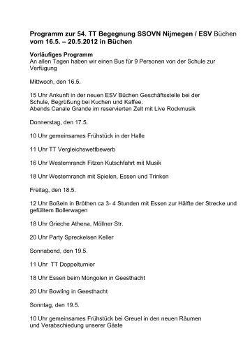 20.5.2012 in Büchen - ESV Buechen