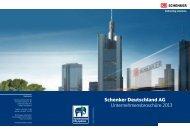 Schenker Deutschland AG Unternehmensbroschüre 2013