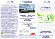Einladung und Programm - Logistik Initiative Schleswig-Holstein