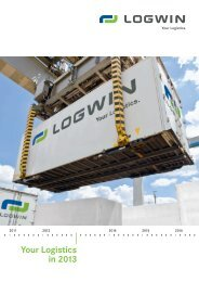 Your Logistics in 2013 - Logwin Logistics