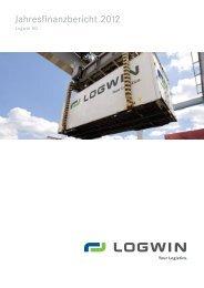 Jahresfinanzbericht 2012 - Logwin Logistics