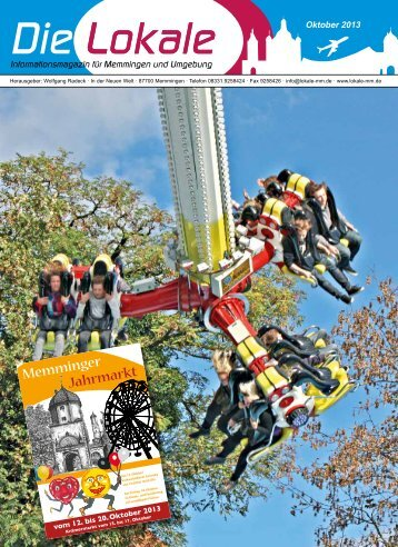 Download Oktober 2013 - Lokale Zeitung Memmingen