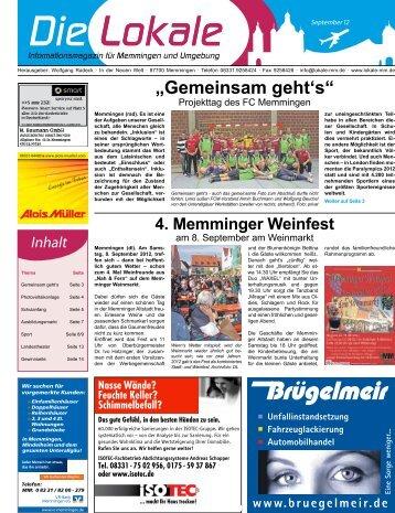 Download 09 Sep - Lokale Zeitung Memmingen