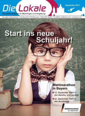 Download Ausgabe September 2013 - Lokale Zeitung Memmingen