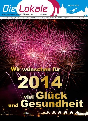 Download Januar 2014 - Lokale Zeitung Memmingen