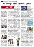 Memminger Kultursommer … - Lokale Zeitung Memmingen - Seite 6