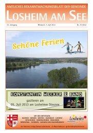 Gemeinde Losheim am See