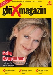 Gaby Hauptmann - LOTTO-Hessen