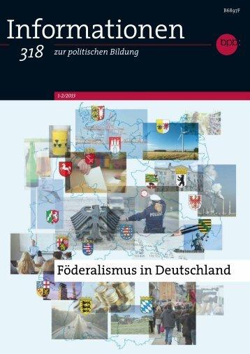 Föderalismus in Deutschland - Landesinstitut für Pädagogik und ...