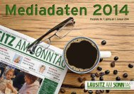 LaS Mediadaten 2014 - Lausitzer Rundschau