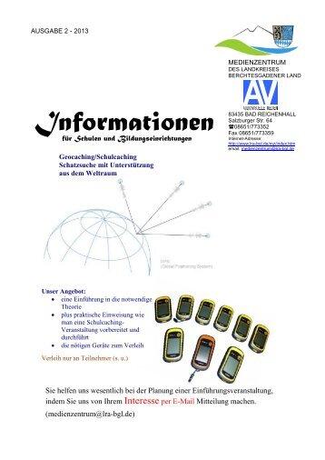 Ausgabe 2/2013 - Landratsamt Berchtesgadener Land