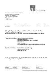 Prüfbericht zur Begehung am 17.09.2013 - Landratsamt Bad Tölz ...
