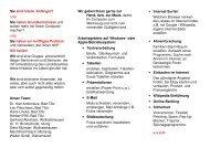 Flyer Computersenioren - Landratsamt Bad Tölz - Wolfratshausen