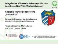 Präsentation zur Regionalkonferenz