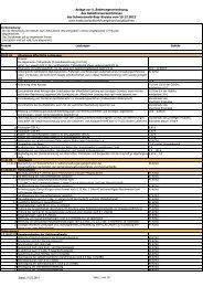 Gebührenverzeichnis - Landratsamt Schwarzwald-Baar-Kreis