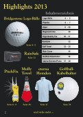 Golf giveaway 2013.pdf - Lutz Sport-Mode AG - Seite 2