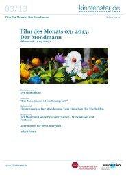 Der Mondmann - Kino macht Schule