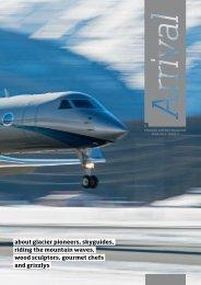 Arrival Magazin 2014 - Airport Samedan