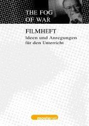 FILMHEFT THE FOG OF WAR - Kino macht Schule