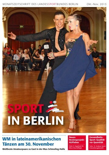 Oktober-November 2013 - Landessportbund Berlin