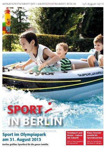 Juli-August 2013 - Landessportbund Berlin