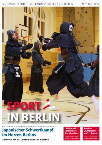 April-Mai 2013 - Landessportbund Berlin