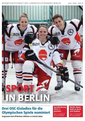 Januar-Februar 2014 - Landessportbund Berlin