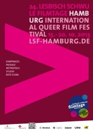 24. LES BISCH SCHWU LE FILMTAGE HAMB URG INTERNATION ...