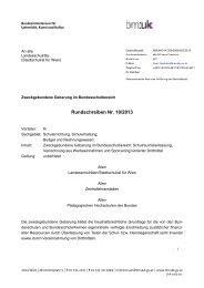 Rundschreiben Nr. 10/2013