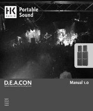 HK Audio D.E.A.C.O.N.