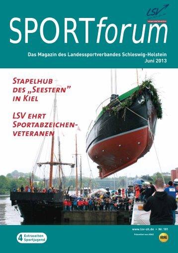 """4 Stapelhub des """"Seestern"""" in Kiel LSV ehrt Sportabzeichen ..."""