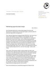 PIRATEN-Klage gegen Extra-Diäten erfolglos Kiel, 30.09.13 Das ...
