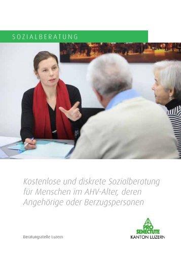 Kostenlose und diskrete Sozialberatung für Menschen im AHV-Alter ...