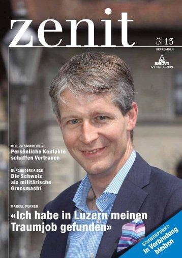 Ich habe in Luzern meinen Traumjob gefunden - bei Pro Senectute ...