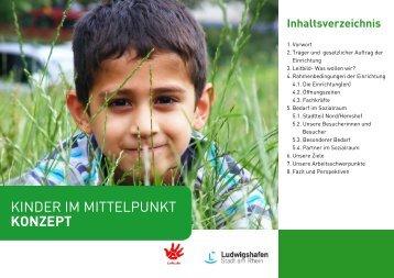 Konzept 2013: Kinder im Mittelpunkt
