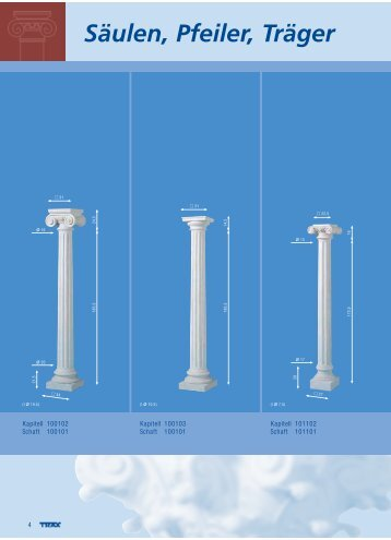 Vom Hersteller: Betonsäulen, Pfeiler, Träger - Luca Bellando