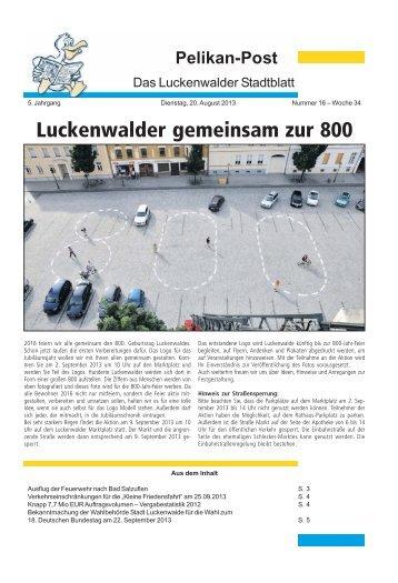 16/2013 - Stadt Luckenwalde