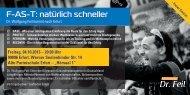 Vortragsreihe Dr. Wolfgang Feil am 04.10.2013 - Laufladen Erfurt