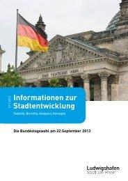 Die Bundestagswahl am 22. September 2013 - Ludwigshafen