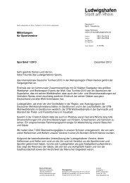 Sportbrief 1/2013 (pdf, 117.8 kB) - Ludwigshafen