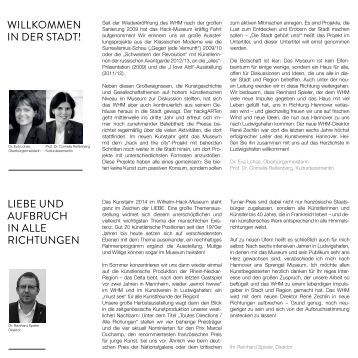 Jahresprogramm 2014 - Ludwigshafen